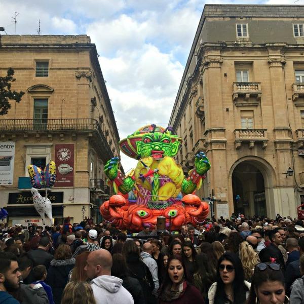 Carnival in Valletta Malta