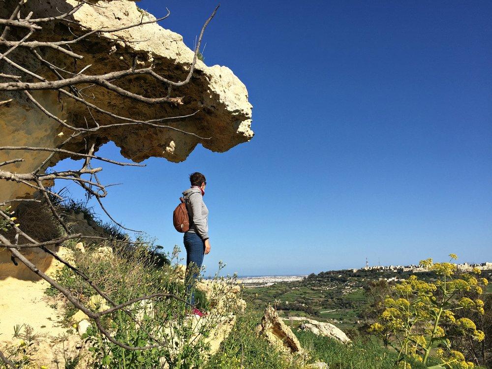 il-qalla nature trek malta
