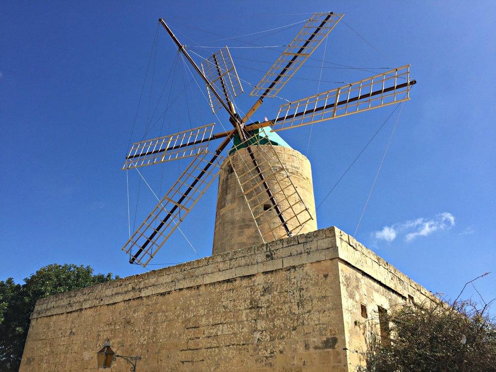 ta kola windmill gozo malta