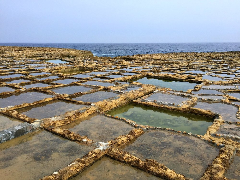salt pans in gozo