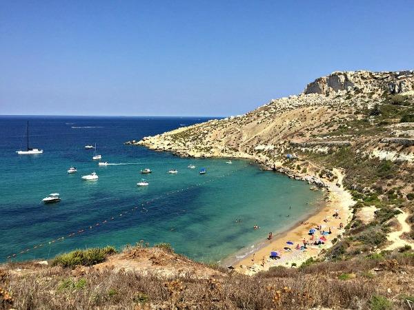 selmun beach malta