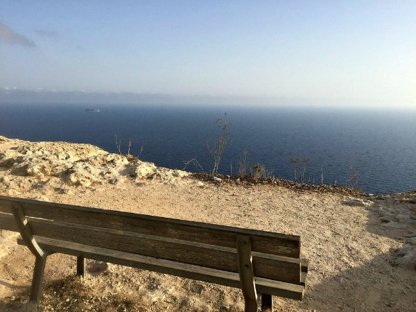 top bench views malta