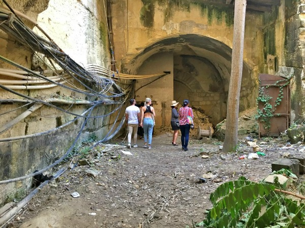 floriana underground train station malta
