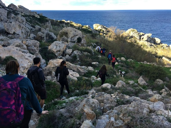 malta trek north coast