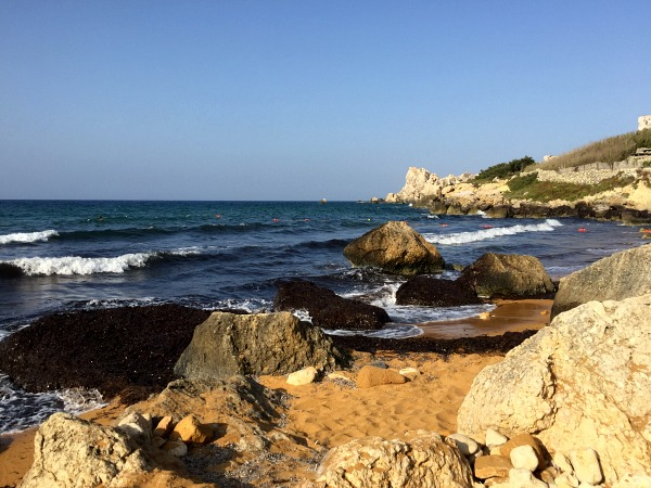 san blas beach beach gozo