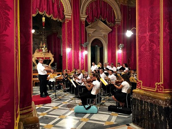 church feast mass concert