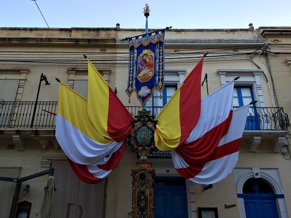street decoration gozo feast