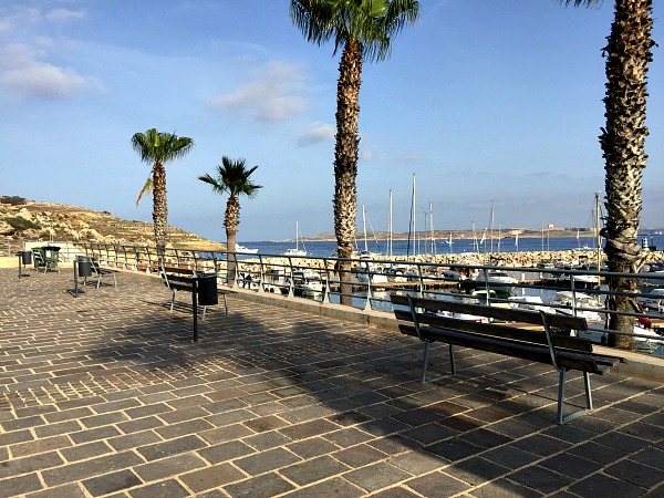 mgarr harbour promenade