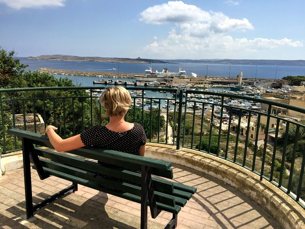 mgarr harbour bench