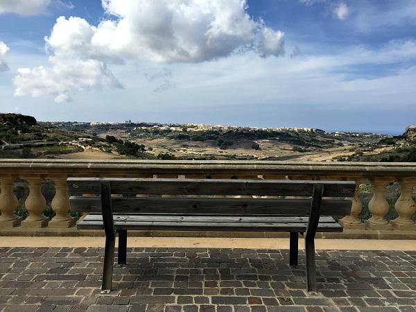 nadur bench view