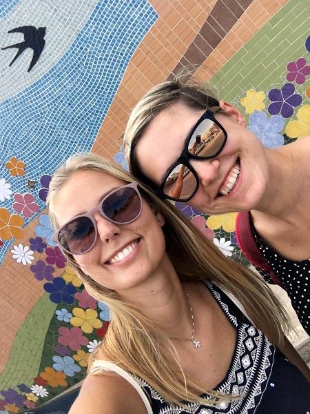 mgarr mozaik gozo selfie