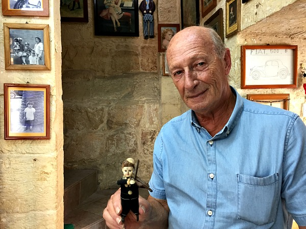 Vincent Brown the toy museum valletta