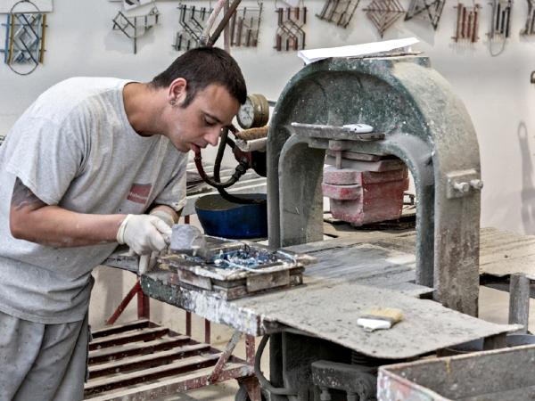maltese traditional tiles making
