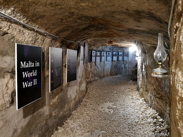 mosta world war shelters