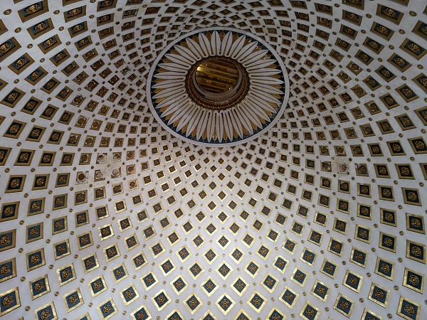 mosta dome detail
