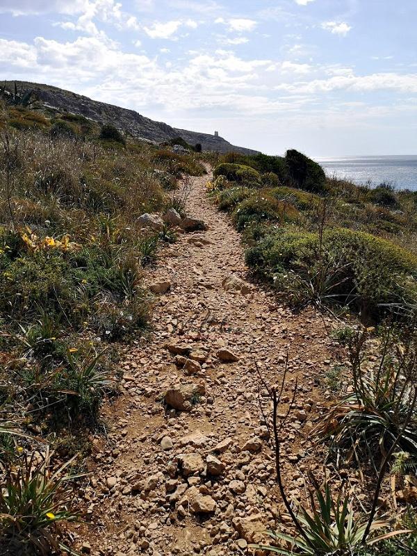 ghar lapsi trek path