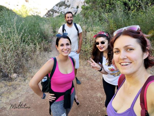 malta group trek wied babu