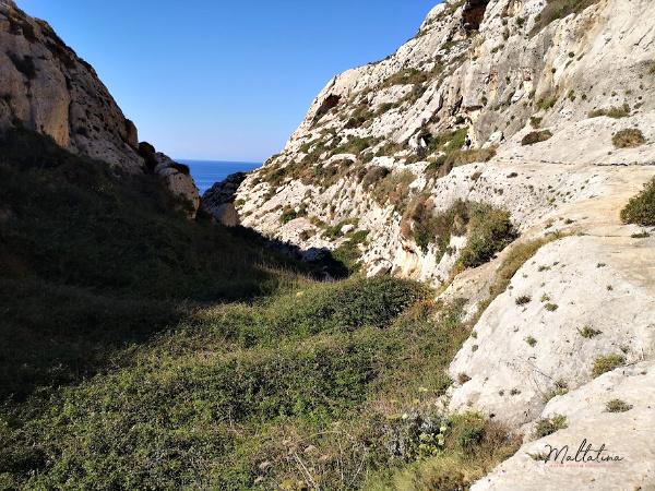wied babu rock climbing area