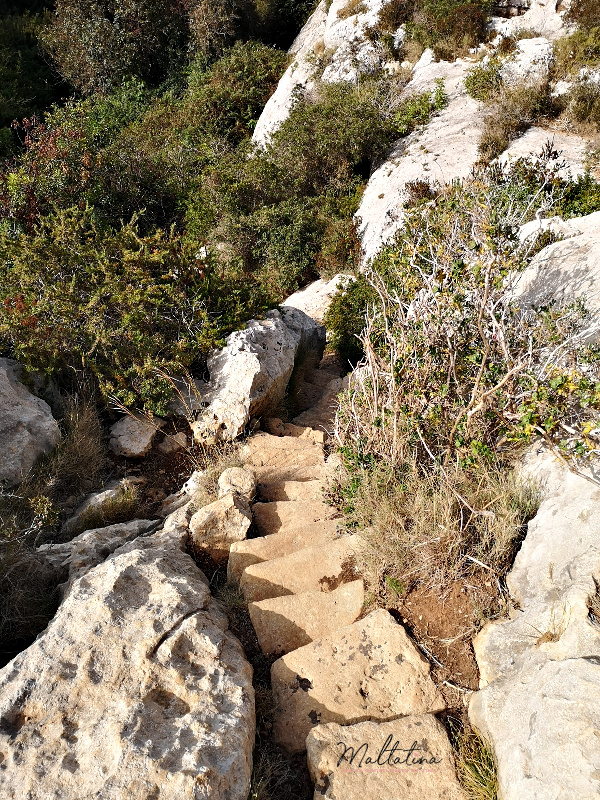 wied babu steps to lower trek