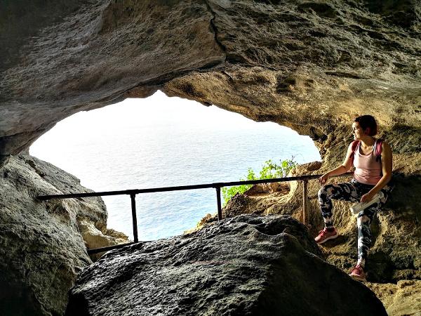 ghar hasan cave view