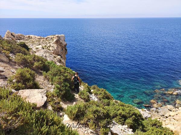 il-mara malta cliffs sea