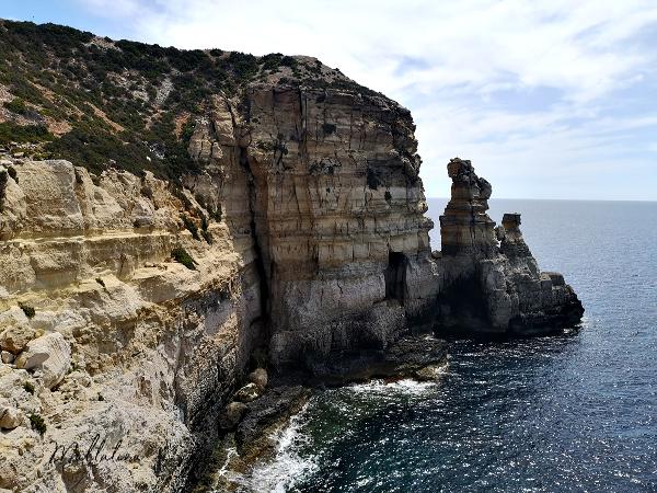 il-mara rock column malta