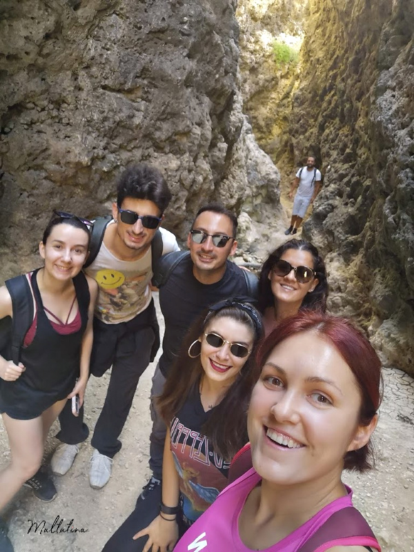 migra ferha canyon maltatina group trek