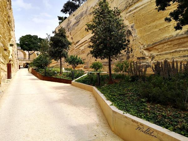 valletta ditch garden driveway