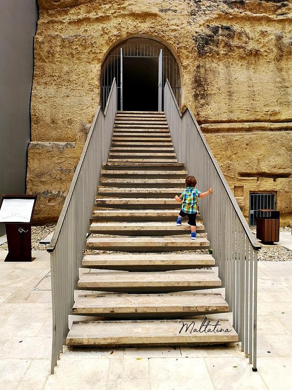 valletta ditch garden stairs