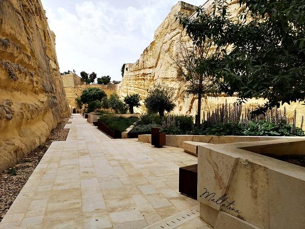 valletta ditch garden malta