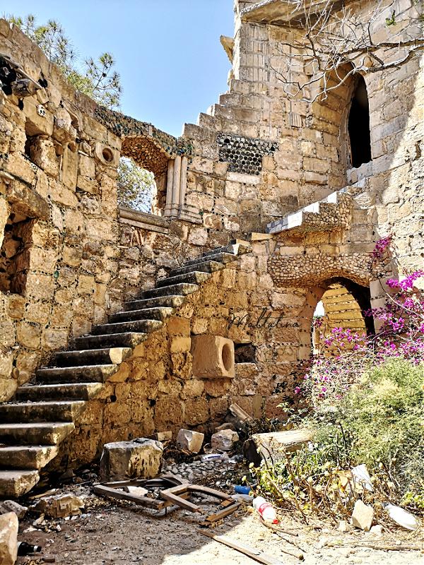 Villa Mystique staircase Madliena Malta