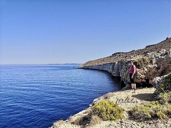 stunning cliffs Rdum tal-Vigarju malta