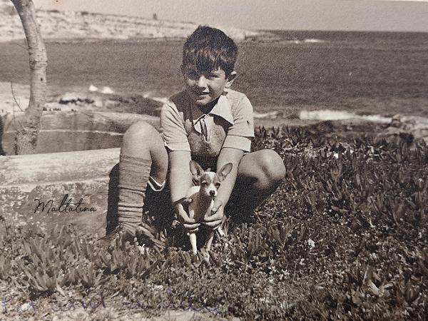 joe scicluna as a young boy