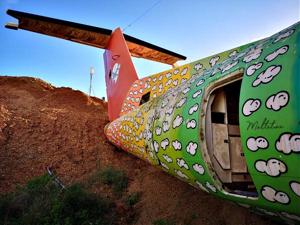 abandoned plane montekristo estate